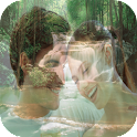 Waterfall Photo Frame Editor icon