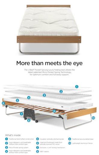 J-Bed® Memory Foam