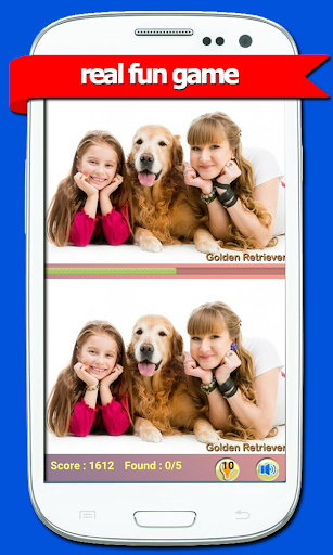 Spot The Differences-Cute Dogs