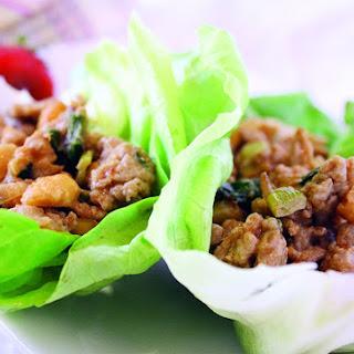 Chicken Lettuce Wrap