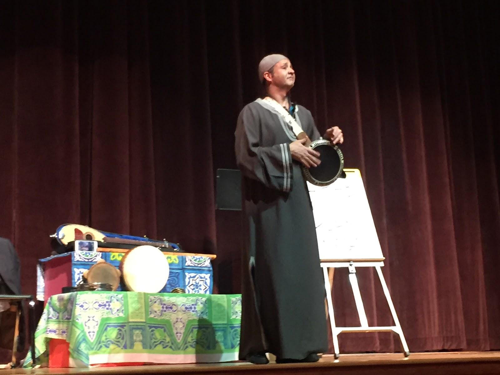 Karim Nagi performing at WHS