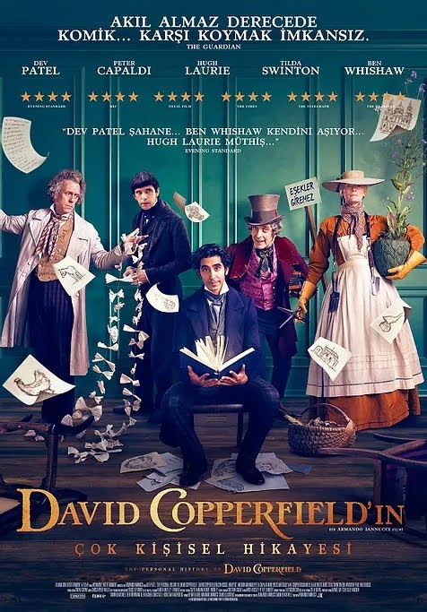 David Copperfield'ın Çok Kişisel Hikayesi - The Personal History of David Copperfield (2020)