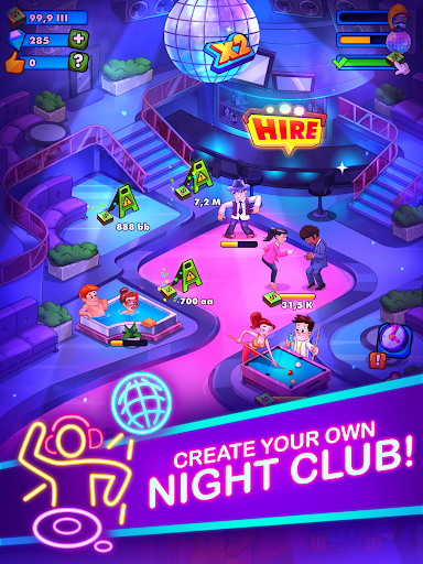 Party Clicker u2014 Idle Nightclub Game apktram screenshots 6