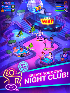 Party Clicker — Idle Nightclub Game Mod Apk (Free Shopping) 6