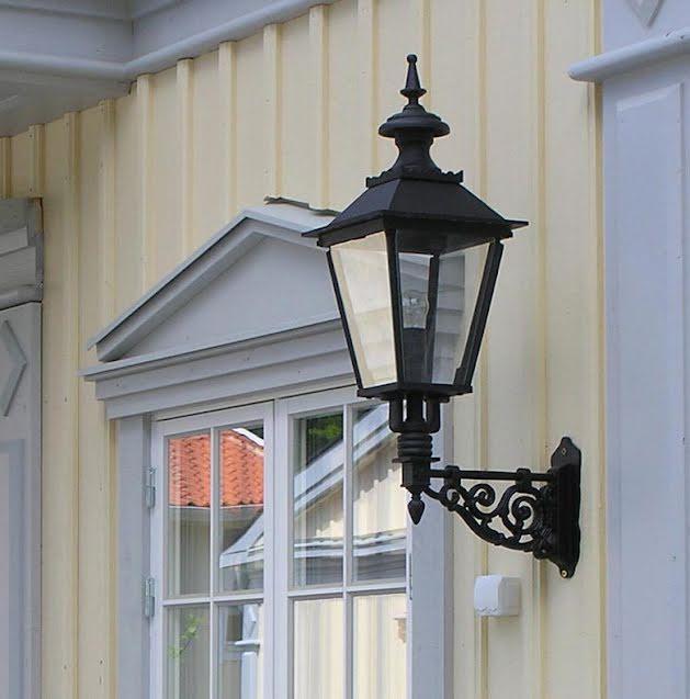 Fasadbelysning Solvik