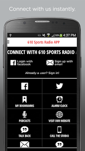 610 Sports Radio APP- screenshot thumbnail
