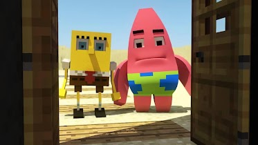 Addon for MCPE - SpongeBob - screenshot thumbnail 02