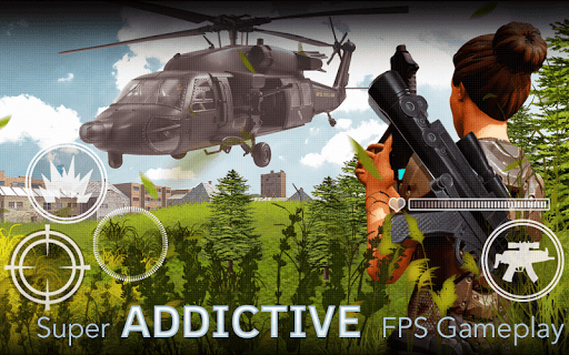 Freedom Forces Battle Shooting - Gun War 1.0.8 screenshots 4