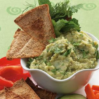 Lima Bean Spread with Cumin & Herbs.