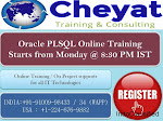 Oracle PLSQL Online Training - cheyat tech