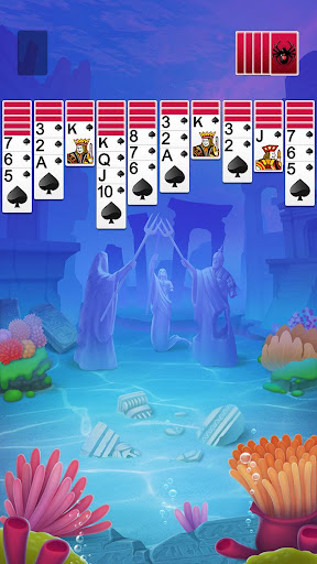Solitaire Spider Fish Screenshots 1