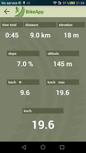 BikeUp - náhled