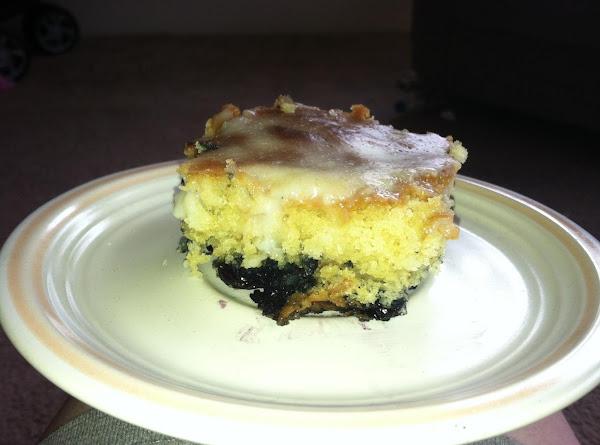 Blueberry Spice Pudding Cake Recipe