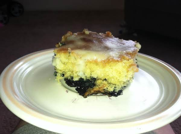 Blueberry Spice Pudding Cake Recipe
