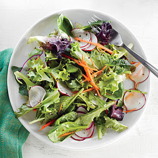 Radish Salad with Orange Vinaigrette