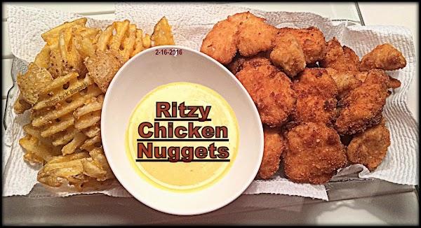 Ritzy Chicken Nuggets Recipe