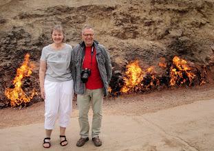 Photo: Ei tässä kauaa olisi voinut seistä - olisi tullut liian kuuma!