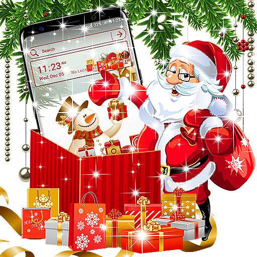 Baixar Christmas Gift Launcher Theme