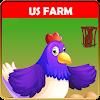 US Farm House Carton Ville: Dairy Town Simulator 1.0