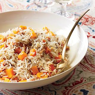 Butternut Squash Basmati Rice Recipe