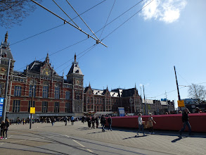 Photo: Amsterdam Centraal Station