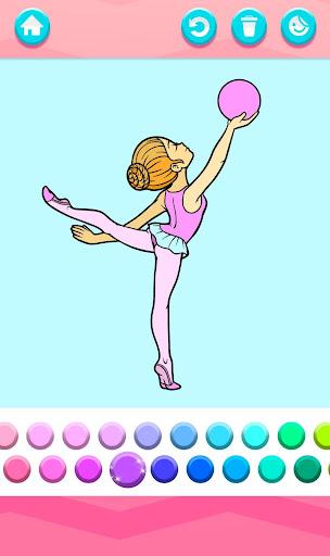 Kids Coloring Book for Girls 1.3 Cheat screenshots 3