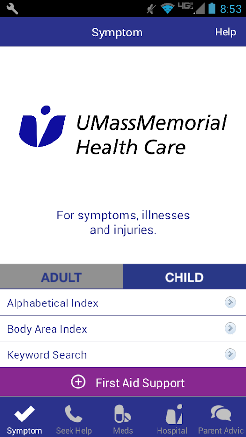 HEALTH eCHECK- screenshot
