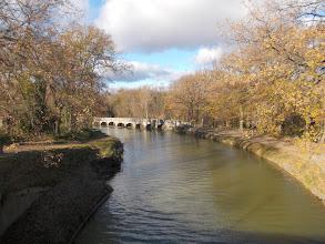Photo: retour de la Boucle à l'Epanchoir depuis le Pont de la Redorte