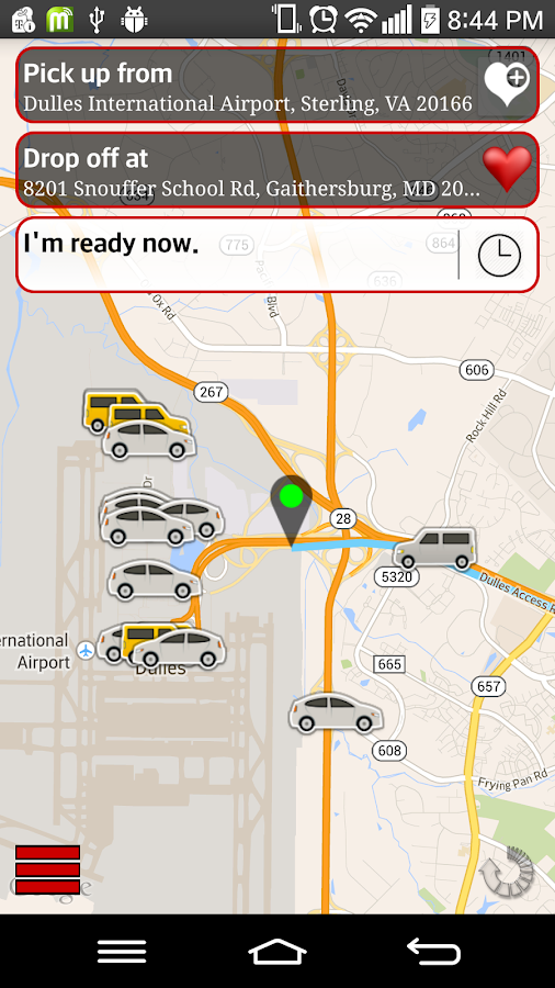 LYNC Transportation- screenshot
