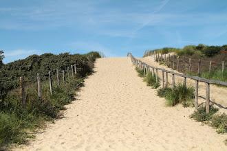 Photo: písečná duna cestou k moři