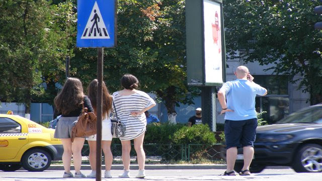 Bucharest weather hot hours in August