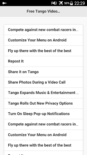 Free Tango Video Calls Tips