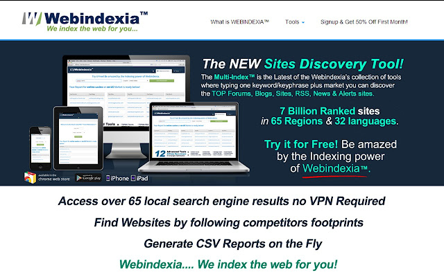 Webindexia's Multi-Index™ Lite