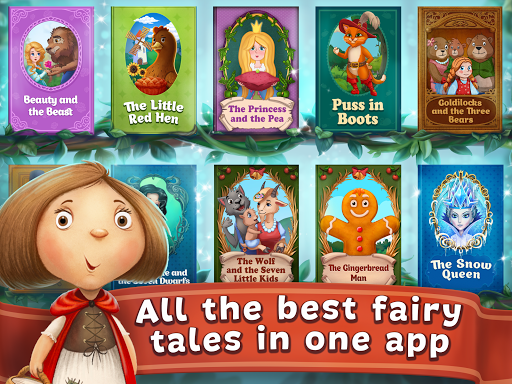 Fairy Tales ~ Childrenu2019s Books, Stories and Games 2.5.2 screenshots 7