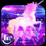 Fantasy Galaxy Unicorn Keyboard Theme file APK Free for PC, smart TV Download