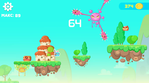 Jumping Slime - screenshot