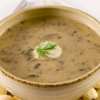 Cream of Portabella Soup