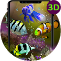3d Aquarium Koi Wallpapers - Fish Live Backgrounds icon