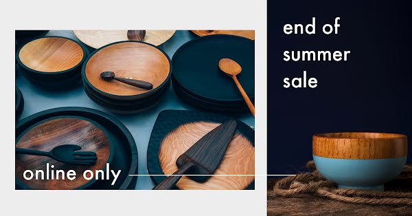 Online End of Summer Sale - Facebook Event Cover Template