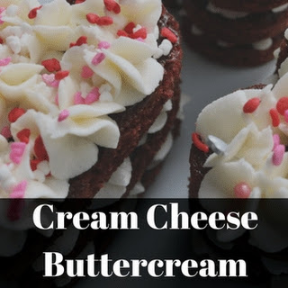 Cream Cheese Buttercream.