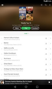 Saavn Music & Radio Screenshot 10