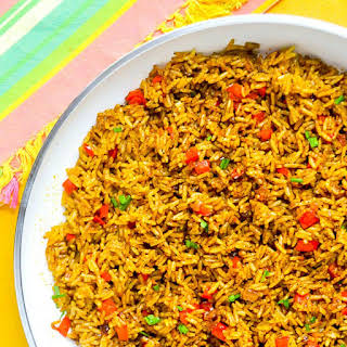 Spicy Turmeric Fried Rice.