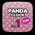 Panda Clock No1 Cute icon