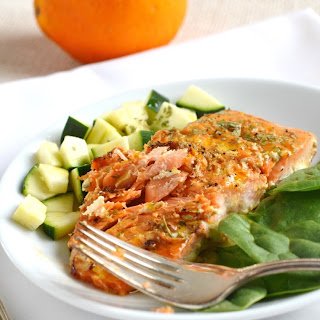 Orange Glazed Salmon.