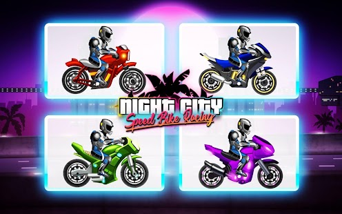 Download Bike Race: Speed Racer Of Night City for PC