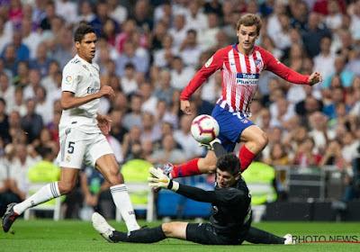 Thibaut Courtois commente sa prestation cinq étoiles contre l'Atlético Madrid