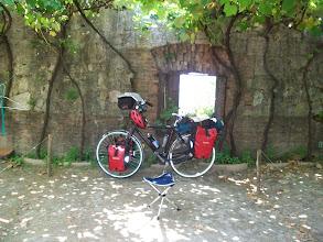 Photo: Plaats voor het tentje camping Castel Pedro in Verona