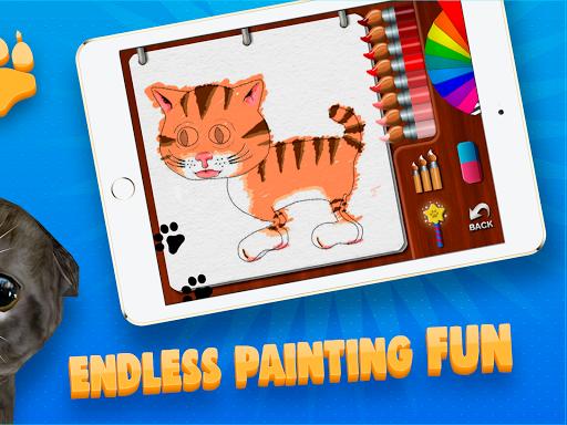 Paint My Cat: 3D Coloring Sandbox screenshot 5