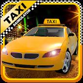 Modern Super City Taxi Driver