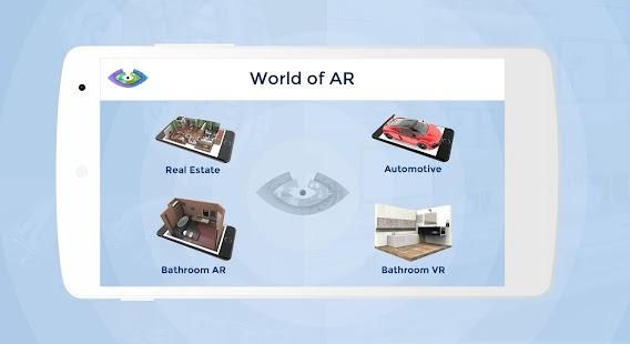 World of AR - náhled